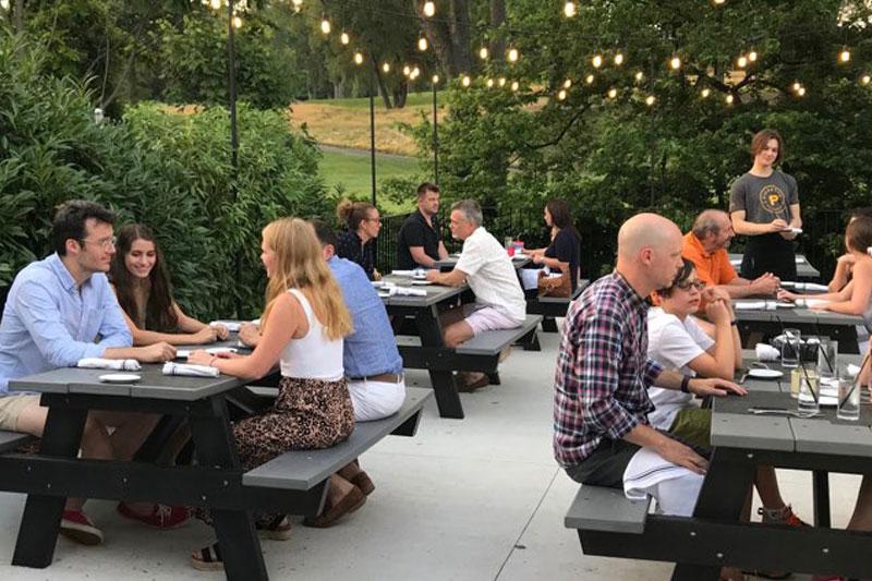 Pickett's Village Bar Outdoor Dining
